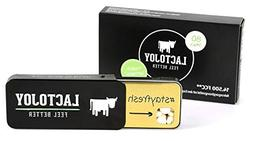 LactoJoy Lactase Tablet 14.500 FCC  - innovative Mini Lactas