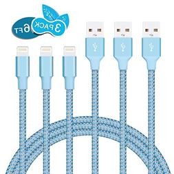 Lightning Cable, iPhone Charger MarchPower 2 Pack 6FT Lightn