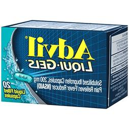 Advil Liqui-Gel Capsules, 20 ct