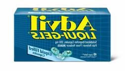 Advil Liqui-Gels Ibuprofen Pain Reliever Fever Reducer  Caps