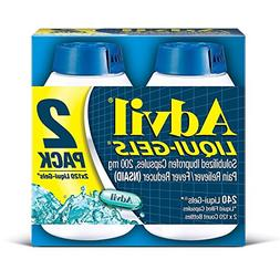 Advil Liquid Gels - Value Size 2 Pack