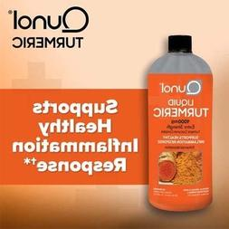 Qunol Liquid Turmeric 1000mg Extra Strength,16oz  Free Cups