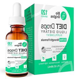 Bio Weight Loss Drops for Women & Men, Diet Drops for Weight