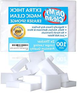 Extra Large Magic Cleaning Eraser Sponge - 2X Thick, 2X Lon