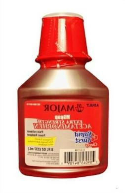 MAJOR MAPAP ES ADULT LIQUID ACETAMINOPHEN-500 MG/15 ML Red 2