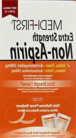 Medi-First Extra Strength Non-Aspirin, Acetaminophen 500mg T