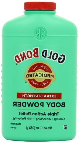 Gold Bond Medicated Extra Strength Powder, 10 Ounce Containe