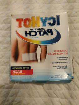 ICY HOT Medicated Patches Extra Strength Large  5 Each