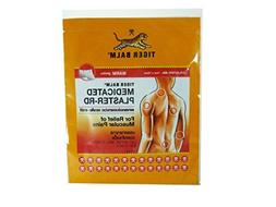 Tiger Balm Medicated Rd Warm Plaster Pains Relief, BIG Size