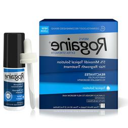 ROGAINE MEN'S TOPICAL SOLUTION  5% minoxidil extra strength
