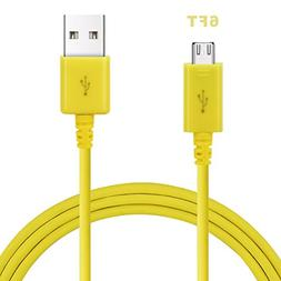 Micro USB Cable, Lyplus 6FT Super Durable Charging and Data
