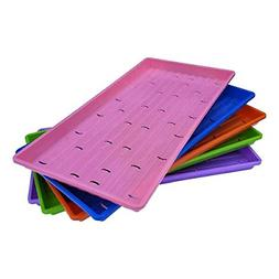 Microgreen Trays, Multicolor 10 Pack, Extra Strength with Ho