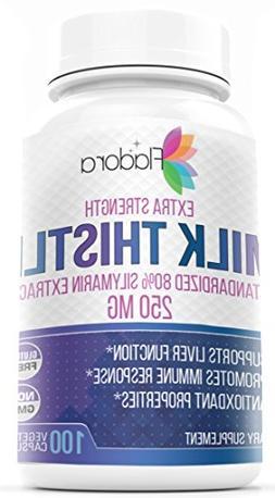 Milk Thistle Extra Strength 4:1 Extract 1000 mg - standardiz
