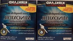 Kirkland Minoxidil 12 Month Supply LIQUID Extra Strength Men