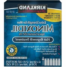 Kirkland Signature Minoxidil 5% Extra Strength for Men Hair