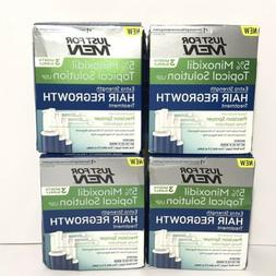 Minoxidil 5% Extra Strength Hair Regrowth Treatment 4 Boxes