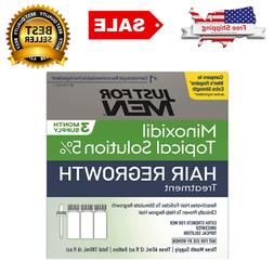 Just For Men Minoxidil 5% Extra Strength Hair Regrowth Treat
