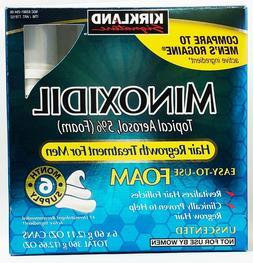 Kirkland Minoxidil 5% Extra Strength Men Hair Regrowth Foam