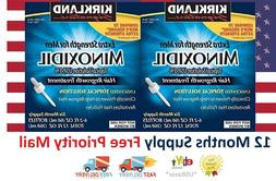 Minoxidil-5% Extra Strength Hair Regrowth for Men, 6 Month S