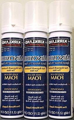 NEW - Kirkland Minoxidil for MEN Hair Growth Treatment Unsce