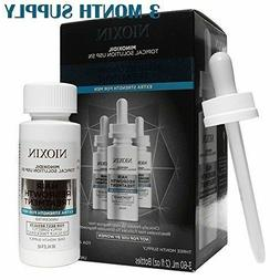 Nioxin Minoxidil 5% Hair Regrowth Treatment Extra Strength f
