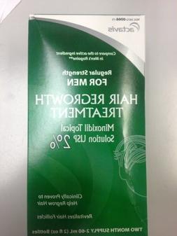 Mens Minoxidil 2% Regular Strength Hair Regrowth Treatment S
