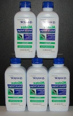 Mintox Antacid/Antigas Mint Creme Liquid 12oz Bottle  - Pack
