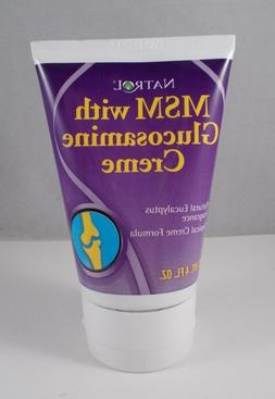 Natrol MSM & Glucosamine Creme, 4oz. Tube
