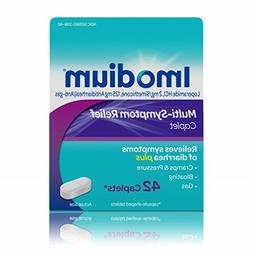 Imodium Multi-Symptom Gas & Diarrhea Relief Caplets, 42 Coun