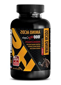 Muscle Builder pre Workout - Amino Acids 1000 mg Complex - E