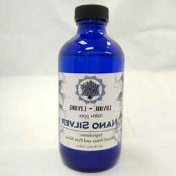 Nano Colloidal Ionic Silver-Extra Strength 1000 PPM Mineral/