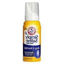 Simply Saline Adult Nasal Mist, Allergy and Sinus, 1.5-Ounce