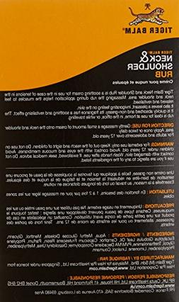 Tiger Balm Neck & Shoulder Rub Boost Extra Strength Warm Pai