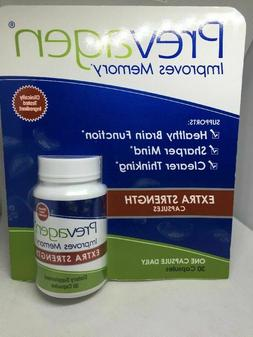 NEW Prevagen 30 Extra Strength Capsules Flavor Improves Memo