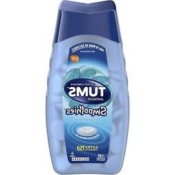 New Tums Extra Strength Antacid Smoothies Peppermint Chewabl