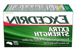 New Excedrin Extra Strength for Headache Relief Caplets 200