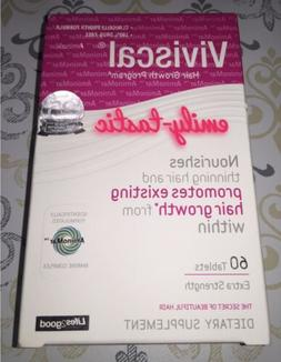 NIB Viviscal Extra Strength 60 Tablets Hair Growth Program W