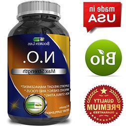 Nitric Oxide Support Pills - Natural Workout Supplement & Ex