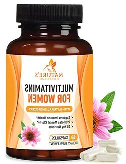 Once Daily Multivitamin for Women  1000mg with Vitamins A B