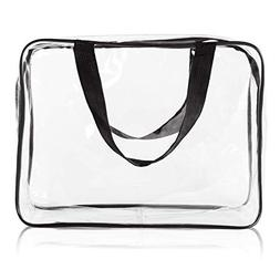 Buy One Get three Hold Liquids Clear Toiletry Bag Carry Smal