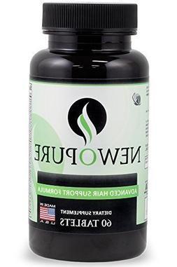 Newopure: Natural Hair Growth Vitamins, Repairs Hair Follicl
