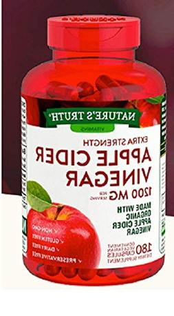 Nature's Truth Organic Apple Cider Vinegar Extra Strength Qu