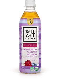 Teas' Tea Organic Lightly Sweet, Pomegranate Blueberry Green