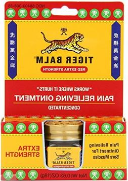 Tiger Balm Pain Relieving Ointment, Extra Strength, 0.63 Oun