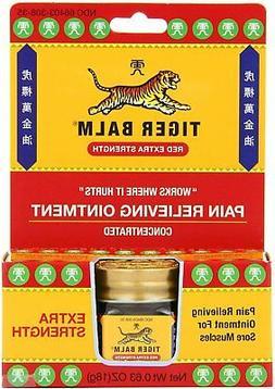 Special pack of 6 TIGER BALM EXTRA STRENGTH 0.63 oz