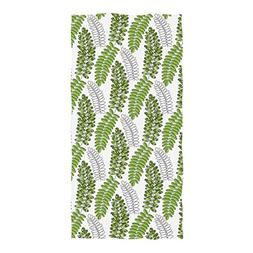 Horatiood Huberyyd Pattern Large Tropical Palm Leaves Oversi