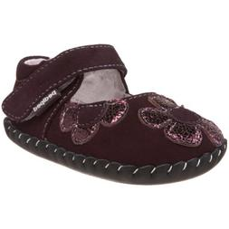 pediped Originals Abigail Mary Jane ,Purple,Extra Small
