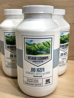 PINNACLE HEALTH Fish Oil 3000mg Extra Strength Heart Health