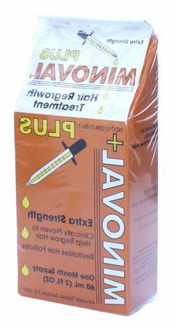 MINOVAL PLUS Hair Regrowth Treatment- Minoxidil 5% Extra Str