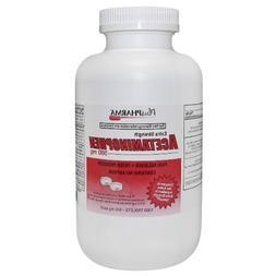 PlusPharma Acetaminophen 500mg Tablets  1000ct